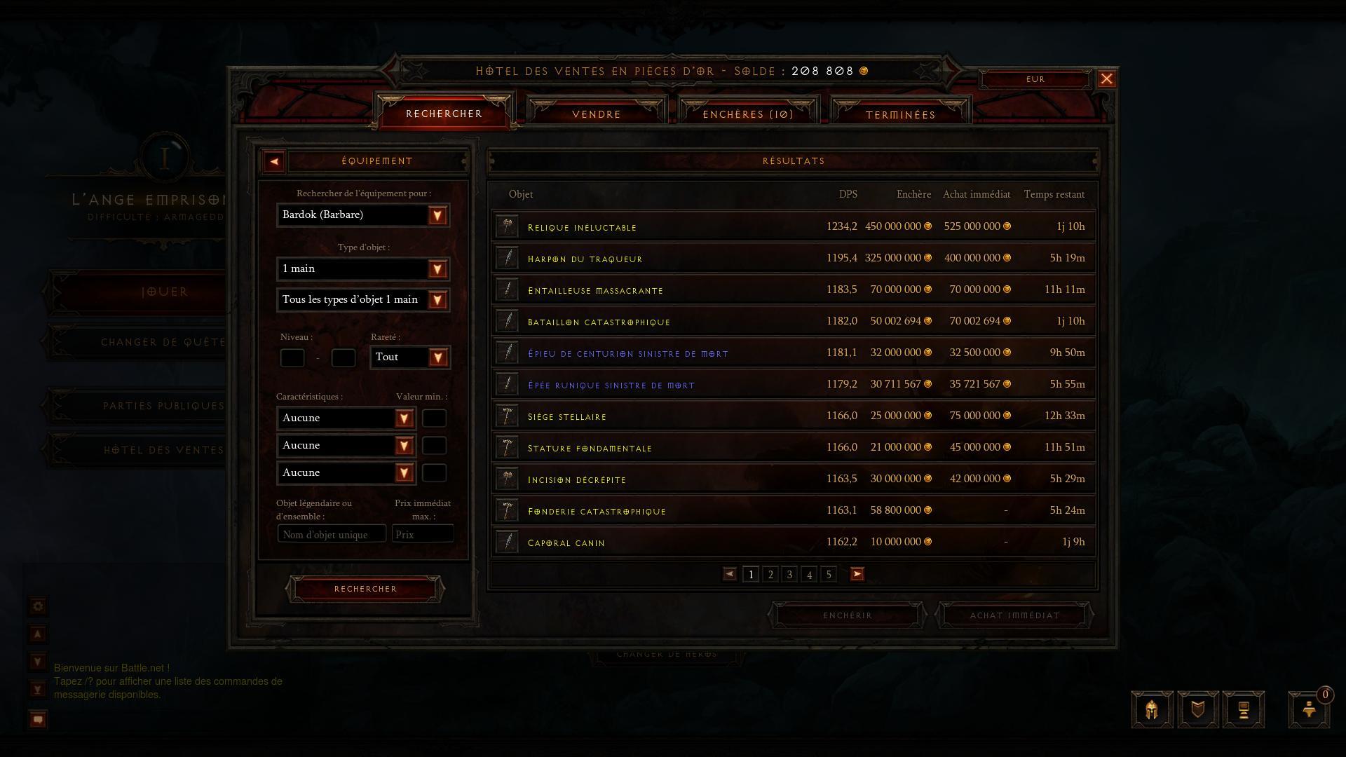 Diablo III : L'hôtel des ventes
