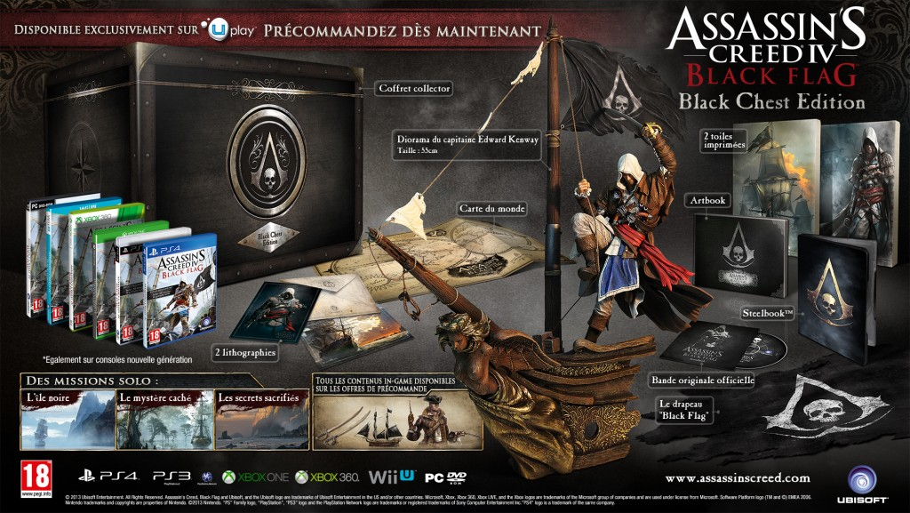 assassins creed 4 black chest edition