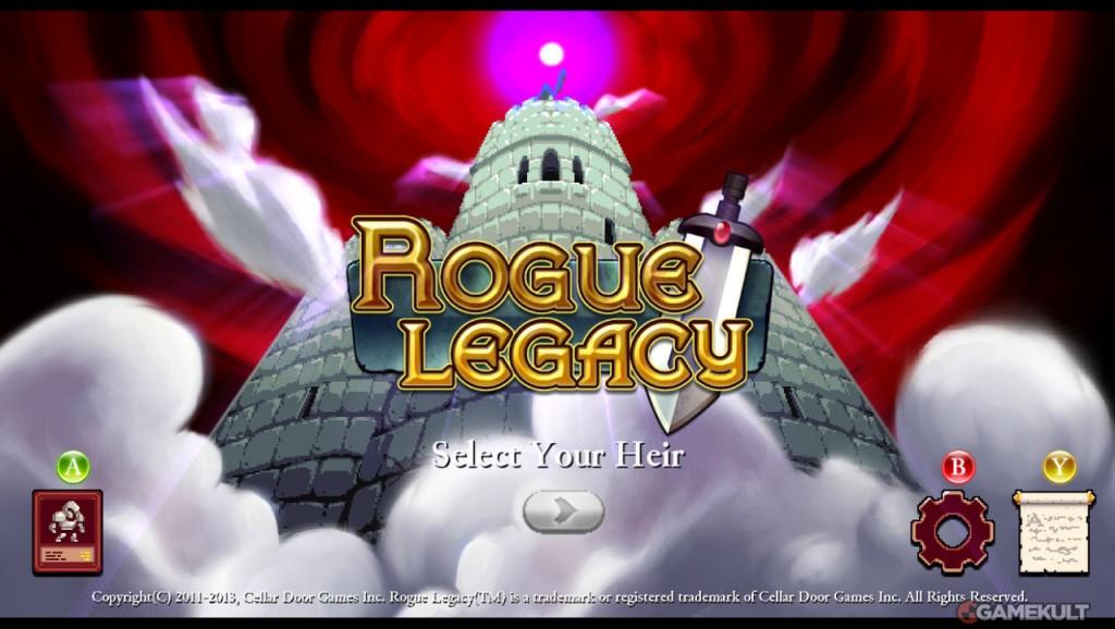 Coup de Scan : Rogue Legacy